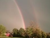 Rainbow from flat Rock area