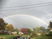 Double Rainbow in McCandless