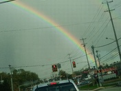 Double rainbow in West Mifflin