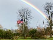 Flagpole rainbow