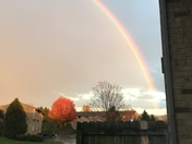 Rainbow in Latrobe