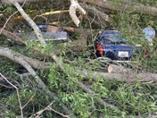 Car and truck destroyed in Wilkesboro tornado