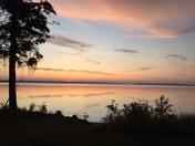Sunset over Waskesiu