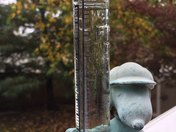 rain gauge - Thursday afternoon