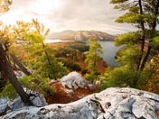 Fall Colours of Killarney provincial park