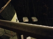 First snow !