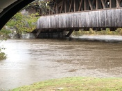 Flooding under Smith bridge