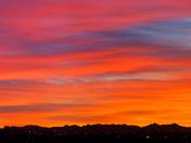 Alberta wide sunset