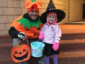 Trick or Treating: Uncle Style