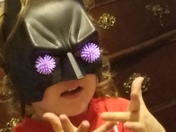 BAT GIRL SEES stars!!