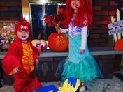 The Little Mermaid Halloween Crew