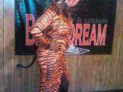 Lady tigress showing those true stripes!