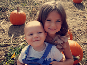 Brother Sister Pumpkin Patch
