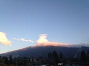 Unique South Lake Tahoe Cloud Formation