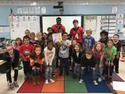 Reading with RAMs ~ Hillcrest High teamed up with Bryson Elementary