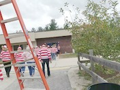 Waldo found at Peter Woodbury School