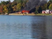Fire in Lake greenwood
