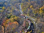 Where road and railroad meet