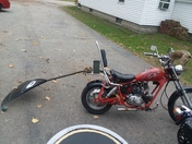 Mini chopper Rackanator tumthousand