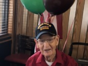 WW2 Veteran celebrates 101st Birthday!