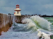 March Storm in Belliveau's Cove