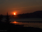 Sunrise over Algonquin Provincial Park