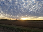 Beautiful November Sunset