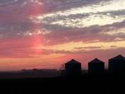 Sunset on the Terminal Moraine, Dallas Co., IA