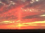 Sunset near Kelley