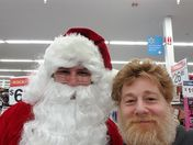 Santa  has been found.I asked for snow to fall on Christmas day