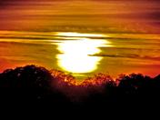 FOOTHILL AUTUMN SUNSET