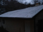 First snow in Princeton