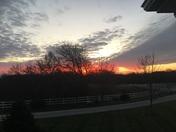 Sunrise over Blair
