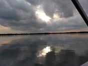 Sunset Big Lake Harris