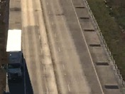 View of 275 eastbound accident from Rt 27 Bridge