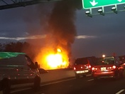 I-95/895-split car fire