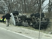 Accident West of DesMoines On I-80 just before 11am