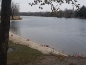 Cold day on the lake's in Fremont, NE