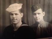 My Uncle, & my dad WWII