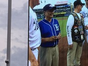 Dad During his time in service & being honored by the Kansas City Royal!!!!