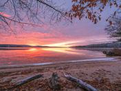 Salmon Point Sunrise in November