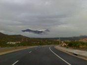 Cloudy Alamogordo Mountains