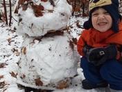 1st Snowman 2018