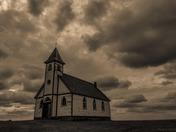 Abandoned Church on Hilside