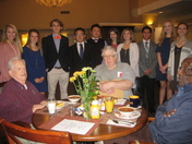 Southside Christian School Interact Club with Brookdale Assisted Living Veterans
