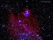 IC-2177 Seagull Nebula  Made About 3:00am This Morning