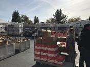 St Vincent's Food Drive Distributes Food
