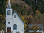 Church at Wei Wa Kai Village Quadra Is. BC