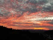 Sunset in Scotts Valley