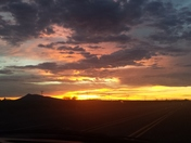 Sunset in Deming New Mexico